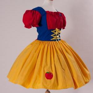 Snow White Halloween Costume Dress ..