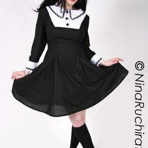 Gothic Lolita Cosplay Chii Dress Go..