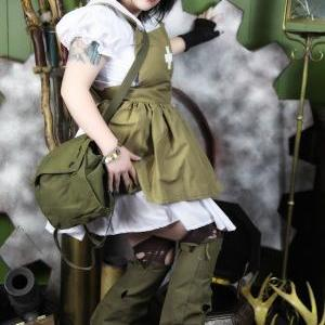 Steampunk Post Apocalyptic Army Mil..