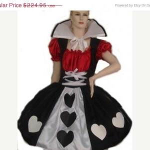Queen of Hearts Costume Alice in Wo..